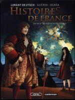 Couverture Histoire de France - XVIIe siècle - Louis XIV et Nicolas Fouquet