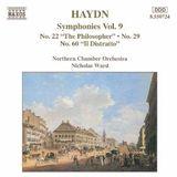 Pochette Symphonies, Volume 9: Nos. 22, 29, 60