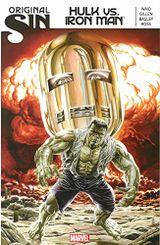 Couverture Original Sin: Hulk Vs. Iron Man