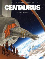 Couverture Terre promise - Centaurus, tome 1