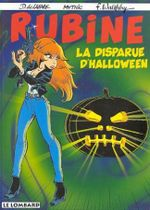 Couverture La Disparue d'Halloween - Rubine, tome 5