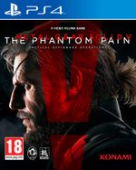 Jaquette Metal Gear Solid V : The Phantom Pain