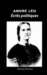 Couverture Ecrits politiques