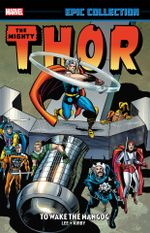 Couverture Thor Epic Collection: To Wake the Mangog