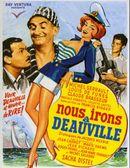 Affiche Nous irons à Deauville