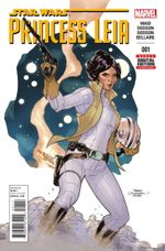 Couverture Star Wars: Princess Leia