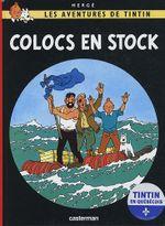 Couverture Les Aventures de Tintin : Colocs en stock (québécois)