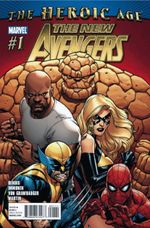 Couverture The New Avengers (2010 - 2013)