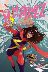 Couverture Crushed - Ms. Marvel (2014), tome 3