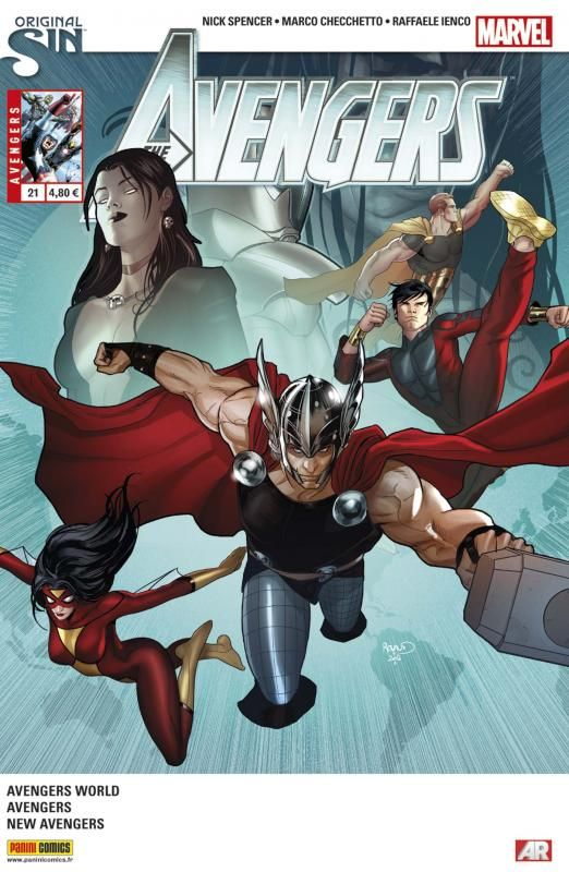 The Avengers v4 Tome 21 Panini Comics French