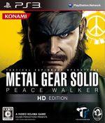 Jaquette Metal Gear Solid Peace Walker HD Edition