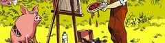 Cover Les meilleures BD satiriques