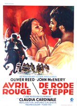 Affiche Avril rouge