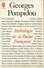 Couverture Anthologie de la poésie francaise