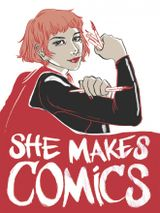 Affiche She Makes Comics