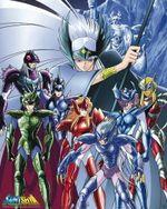 Affiche Les Chevaliers du Zodiaque Arc Asgard