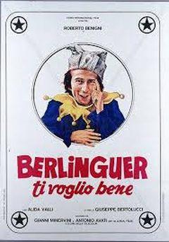 Affiche Berlinguer ti voglio bene