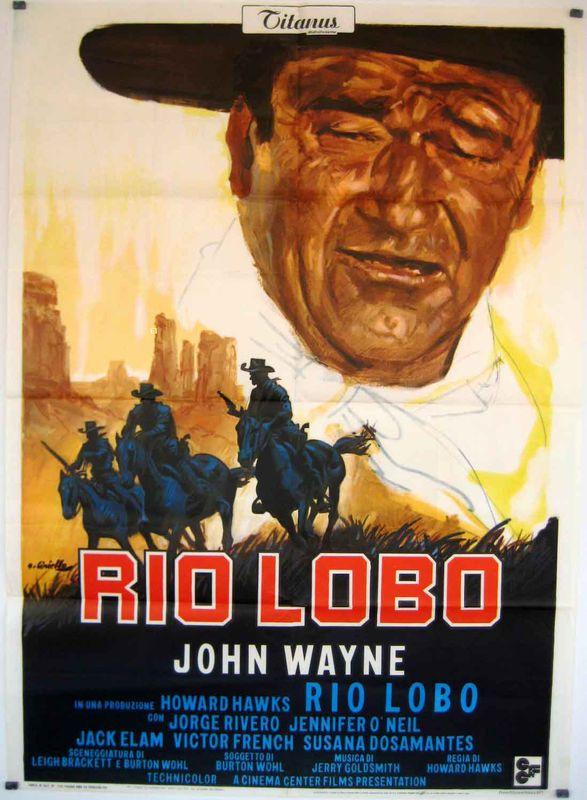 Rio Lobo affiche