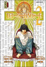 Couverture Death Note, tome 2