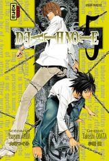 Couverture Death Note, tome 5