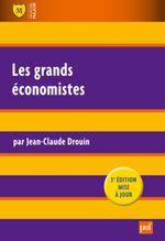 Couverture Les grands économistes