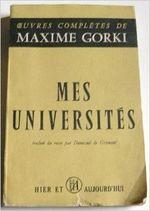 Couverture Mes universités