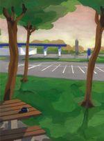 Couverture Polka sur autoroute