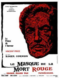 Affiche Le Masque de la mort rouge