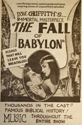 Affiche La chute de Babylone
