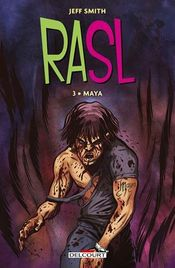 Couverture Maya - RASL, tome 3