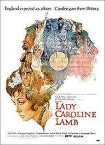 Affiche La Vie tumultueuse de Lady Caroline Lamb