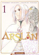 Couverture Les Chroniques d'Arslan tome 1