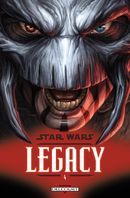 Couverture Indomptable - Star Wars : Legacy, tome 4