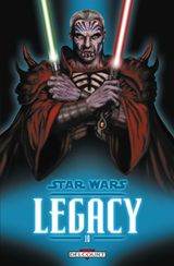 Couverture Guerre totale - Star Wars : Legacy, tome 10