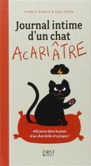 Couverture Journal intime d'un chat acariâtre