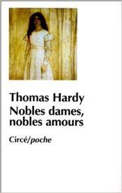 Couverture Nobles dames, nobles amours
