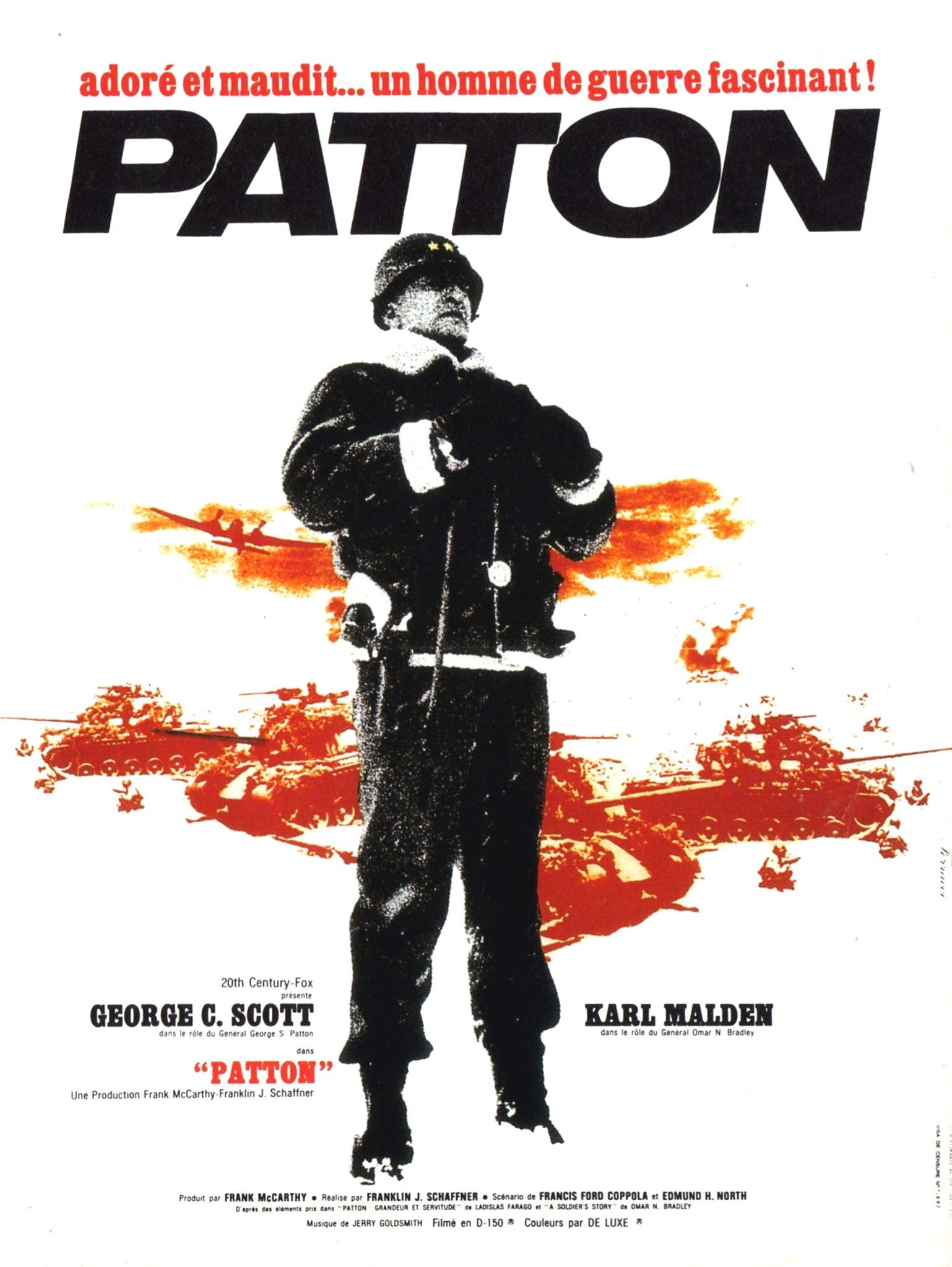 patton film 1970 senscritique