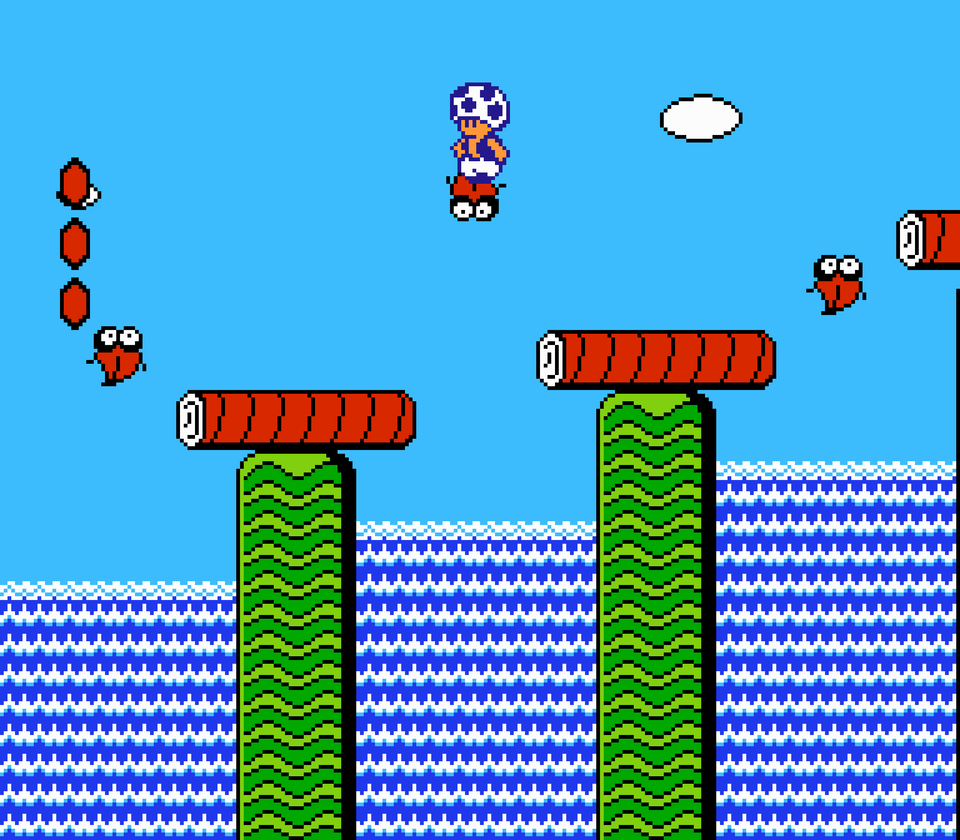 how to fly in super mario bros 2