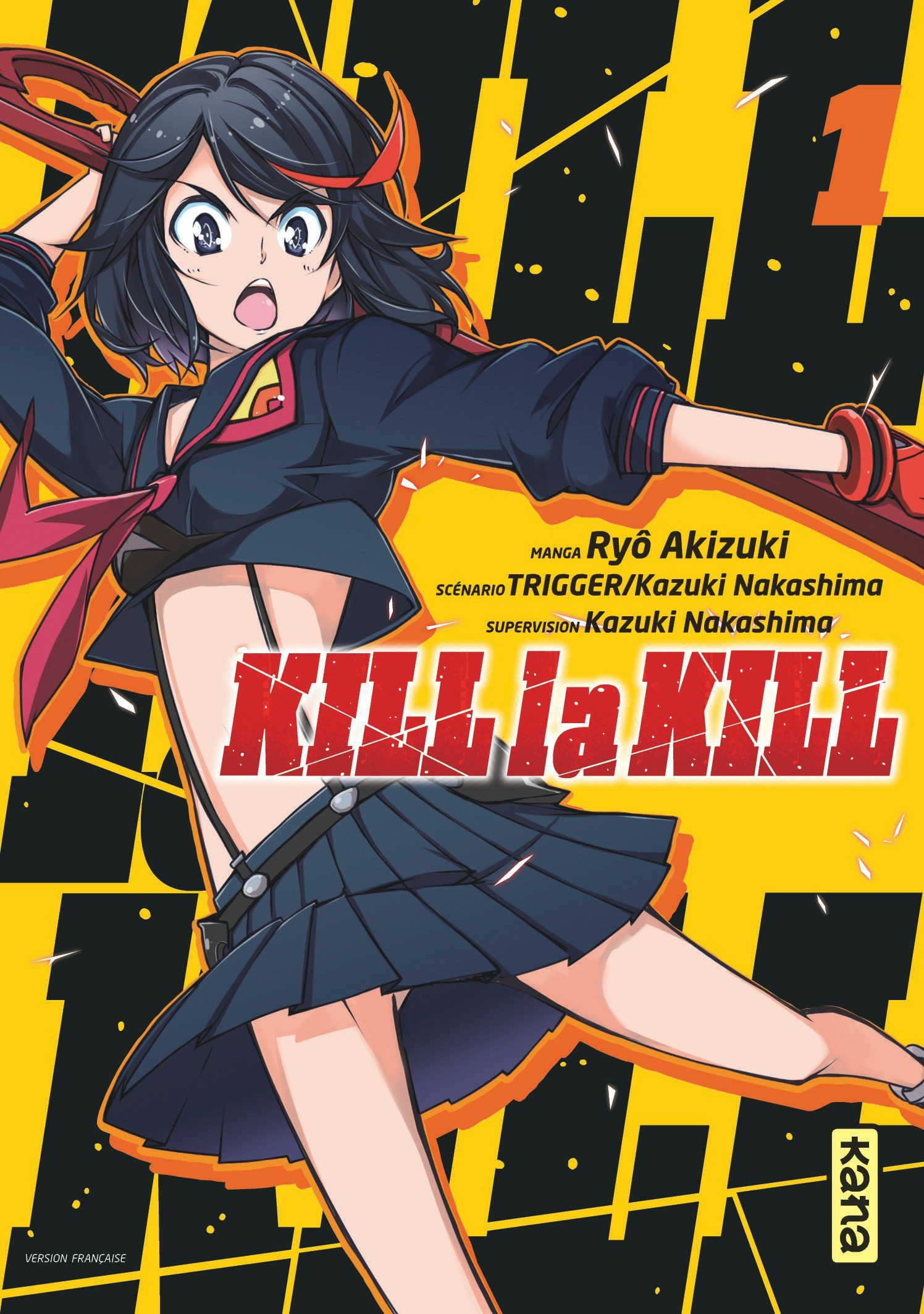 Kill la Kill Tomes 1 ? 3