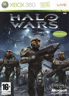 Jaquette Halo Wars
