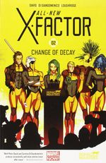 Couverture Change of Decay - All-New X-Factor, tome 2