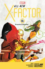 Couverture Not Brand X - All-New X-Factor, tome 1
