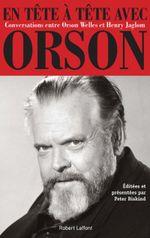 Couverture En tête à tête avec Orson