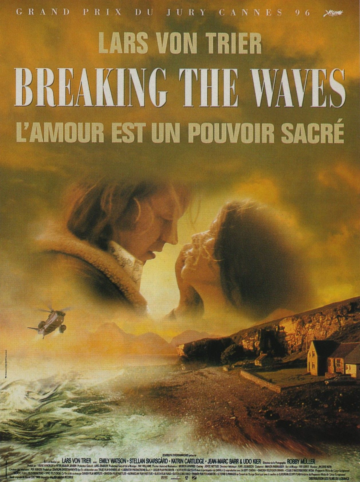 Affiches, posters et images de Breaking the Waves (1996)