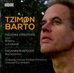 Pochette Liszt, Brahms, Lutosławski: Paganini Variations / Rachmaninov: Paganini Rhapsody