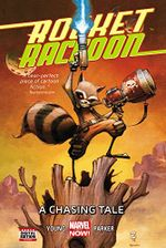 Couverture A Chasing Tale - Rocket Raccoon (2014), tome 1
