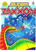 Jaquette Super Zaxxon