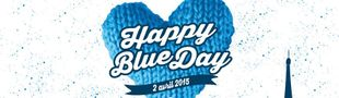 Cover Happy Blue Day 2015