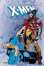 Couverture 1991 (Partie 1) - X-Men : L'Intégrale, tome 28