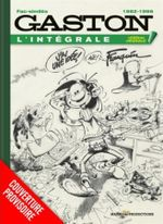 Couverture 1982-1996 - Gaston (L'Intégrale Version Originale), tome 16